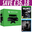 Xbox One with Kinect, Call of Duty: Ghosts and The Conjuring Blu-Rays
