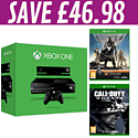 Xbox One with Kinect and Destiny and Call of Duty: Ghosts