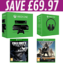 Xbox One with Kinect and Destiny, Call of Duty: Ghosts and Xbox One Stereo Headset