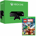 Xbox One Console with LEGO Marvel Super Heroes Super Pack Edition and Minecraft