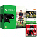 Xbox One Console with FIFA 15 Download, £5 Top Up and Wolfenstein: The New Order Occupied Edition