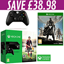 Xbox One Console with FIFA 15 Download, Xbox One Controller and Destiny