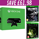 Xbox One Console with Alien Isolation and Call of Duty: Ghosts