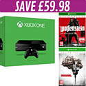 Xbox One Console with The Evil Within Limited Edition and Wolfenstein: The New Order Occupied Edition