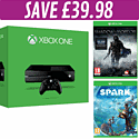 Xbox One Console with Project Spark and Shadow of Mordor