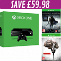 Xbox One Console with The Evil Within Limited Edition and Shadow of Mordor