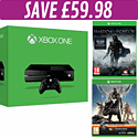 Xbox One Console with Destiny + Vanguard and Shadow of Mordor