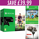 Xbox One Console with FIFA 15 download, Minecraft download and The Evil Within Limited Edition