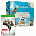 White Xbox One Console with Sunset Overdrive and The Evil Within Limited Edition