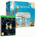 White Xbox One Console with Sunset Overdrive, Halo Master Chief & Forza 5 Download