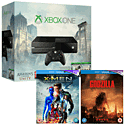 Xbox One Console With Assassin's Creed Unity Download, Assassin's Creed IV, Godzilla Bluray & X-Men Days of Future Past Bluray