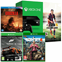 Xbox One Console With FIFA 15 Download, Far Cry 4, Godzilla Bluray & Forza 5 Game Of The Year Download