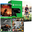 Xbox One Console With FIFA 15 Download, Grand  Theft Auto V, Godzilla Bluray & Forza 5 Game Of The Year Download