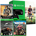 Xbox One Console With FIFA 15 Download, Far Cry 4, X-Men Days Of Future Past Bluray & Forza 5 Game Of The Year Download