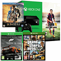Xbox One Console With FIFA 15 Download, Grand  Theft Auto V, X-Men Days Of Future Past Bluray & Forza 5 GOTY Download