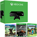 Xbox One Console With Forza 5 Game Of The Year Edition Download, Minecraft And Dawn Of The Planet Of The Apes Bluray Movie