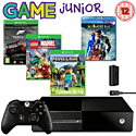 Xbox One Family Pack With Kinect & Lego Marvel Super Heroes, Minecraft, Forza 5 Download, X-Men Blu-Ray and Play & Charge Kit