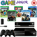 Xbox One Family Pack With Kinect, LEGO Marvel, Minecraft, Play & Charge Kit, Extra Controller & 2 Movies