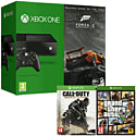 Xbox One Console With Forza 5 Download, Call of Duty Advanced Warfare & Grand Theft Auto V