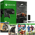 Xbox One Console With Forza 5 Download, LEGO Marvel, Call of Duty Advanced Warfare, FIFA 15, Play & Charge Kit & X-Men Bluray