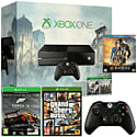 Xbox One With Assassin's Creed Unity, Assassin's Creed IV & Forza 5 Downloads, GTA V, Controller & 1 Movie