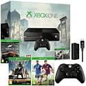 Xbox One With Assassin's Creed Unity, Assassin's Creed IV & Forza 5 Downloads, FIFA 15, Controller, Play & Charge Kit & Destiny