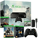 Xbox One With Assassin's Creed Unity, AC IV & Forza 5 Downloads, Halo Master Chief Collection, Controller, Charge Kit & Destiny