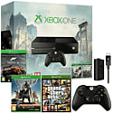 Xbox One With Assassin's Creed Unity, Assassin's Creed IV & Forza 5 Downloads & GTA V, Controller, Play & Charge Kit & Destiny