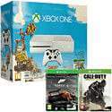 White Xbox One Console with Sunset Overdrive, Forza 5 Game Of The Year Download & Call of Duty Advanced Warfare