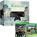 Xbox One Console with Assassin's Creed: Unity, Assassin's Creed IV: Black Flag & Forza 5 Downloads & Minecraft