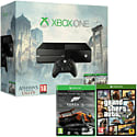Xbox One Console with Assassin's Creed: Unity, Assassin's Creed IV: Black Flag & Forza 5 Downloads & GTA V