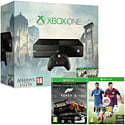 Xbox One Console with Assassin's Creed: Unity, Assassin's Creed IV: Black Flag & Forza 5 Downloads & FIFA 15