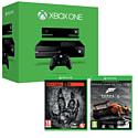 Xbox One Console With  Kinect, Forza 5 Game Of The Year Download & Evolve