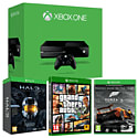 Xbox One Console With Grand Theft Auto V & Halo Master Chief Collection