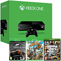 Xbox One Console With Forza 5 Game Of The Year Download, GTA V & Sunset Overdrive
