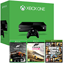 Xbox One Console With Forza 5 Game Of The Year Download, GTA V & Forza Horizon 2