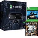 Xbox One Console With Halo MC Collection, Ori & The Blind Forest Download & GTA V