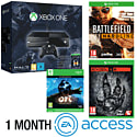 Xbox One Console With Halo MC Collection, Ori & The Blind Forest Download, Battlefield Hardline, Evolve & 1 Month EA Access