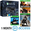 Xbox One Console With Halo MC Collection, Ori & The Blind Forest Download, Battlefield Hardline, Destiny & 1 Month EA Access