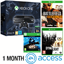 Xbox One Console With Halo MC Collection, Ori & The Blind Forest Download, Battlefield Hardline, Dying Light & 1 Month EA Access
