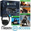Xbox One With Halo MC Collection, Ori & The Blind Forest, Battlefield Hardline, Destiny,  Stereo Headset & 1 Month EA Access