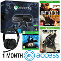 Xbox One With Halo MC Collection, Ori & The Blind Forest, Battlefield Hardline, COD AW,  Stereo Headset & 1 Month EA Access