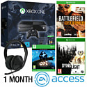 Xbox One With Halo MC Collection, Ori & The Blind Forest, Battlefield Hardline, Dying Light, Stereo Headset & 1 Month EA Access