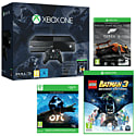 Xbox One Console With Halo MC Collection, Ori & The Blind Forest & LEGO Batman 3