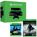 Xbox One Console With Kinect, Ori & The Blind Forest & Middle Earth Shadow Of Mordor