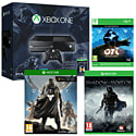 Xbox One Console With Halo MC Collection, Ori & The Blind Forest, Destiny & Middle Earth Shadow Of Mordor