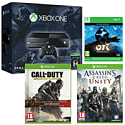 Xbox One With Halo MC Collection, Ori & The Blind Forest, Call Of Duty Advanced Warfare Gold Edition & Assassin's Creed Unity