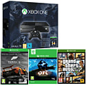 Xbox One Console With Halo Master Chief Collection, Ori & The Blind Forest Download & Grand Theft Auto V