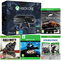 Xbox One With Halo MC Collection, Ori & The Blind Forest, Forza 5, COD Advanced Warfare Gold Edition, AC Unity & Watch Dogs