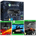 Xbox One Console With Halo Master Chief Collection, Forza 5, Ori & The Blind Forest Download & Project Cars